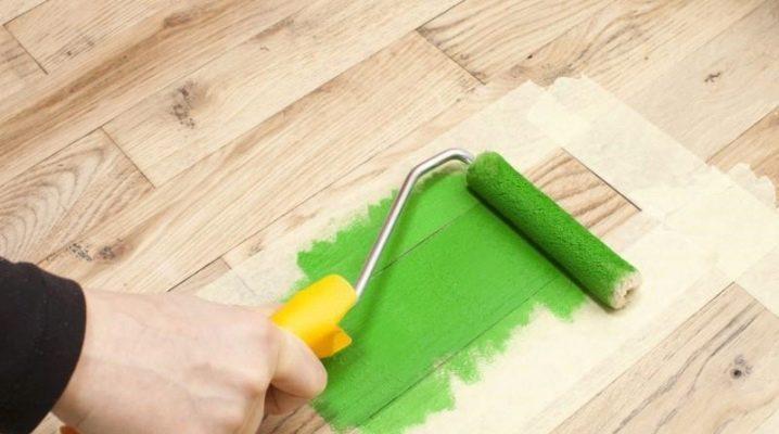 Hur man väljer en snabbtorkande golvfärg utan lukt?