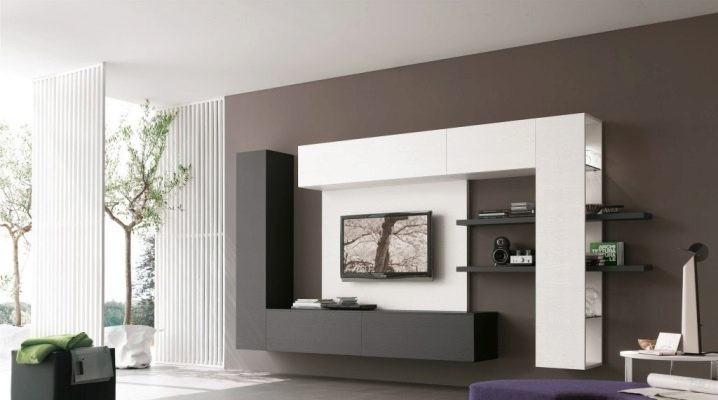 Hur man väljer möbler för vardagsrummet i modern stil?