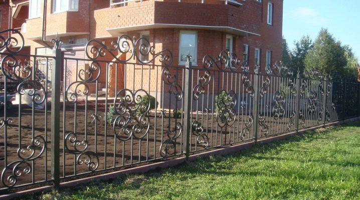 Smidda staket: vackra designidéer