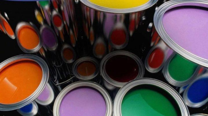 Vattenbaserade färger: typer och kompositioner