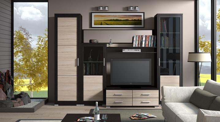Modulära möbler för vardagsrummet: göra rätt val