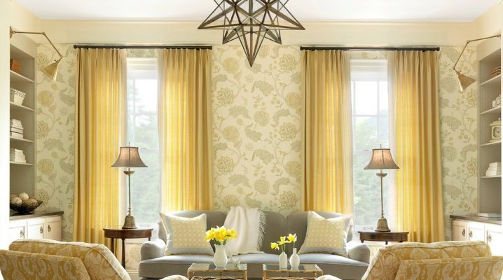 Window decoration in the living room: useful recommendations