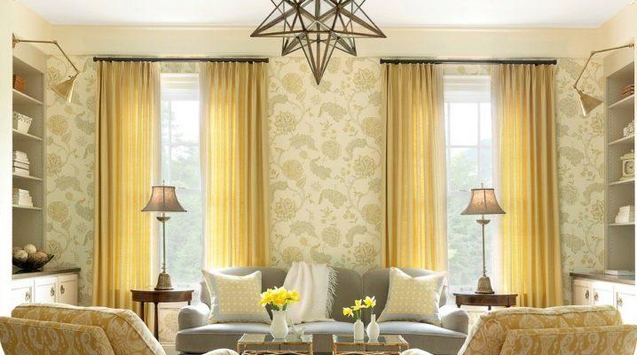 Decorarea ferestrelor în camera de zi: recomandări utile