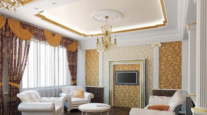 Vi gör ett vardagsrum i klassisk stil