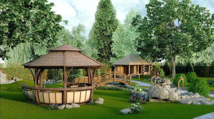 Funktioner av landskapsdesign av dacha