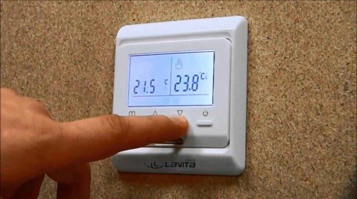 Funktioner av termostater för golvvärme