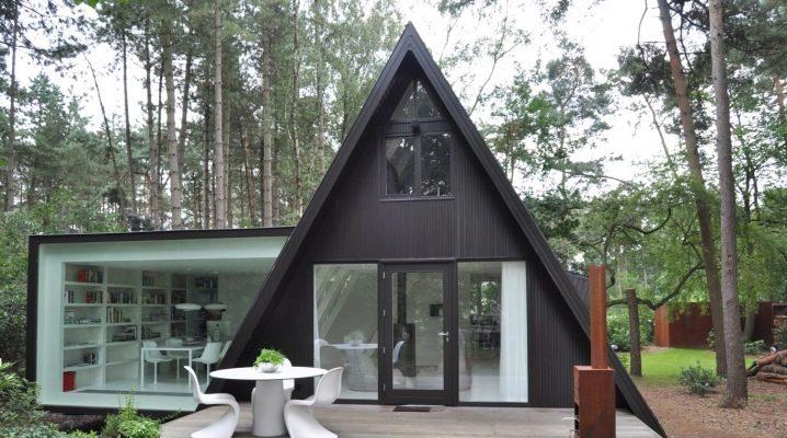 Planering och design av huset i olika stilar