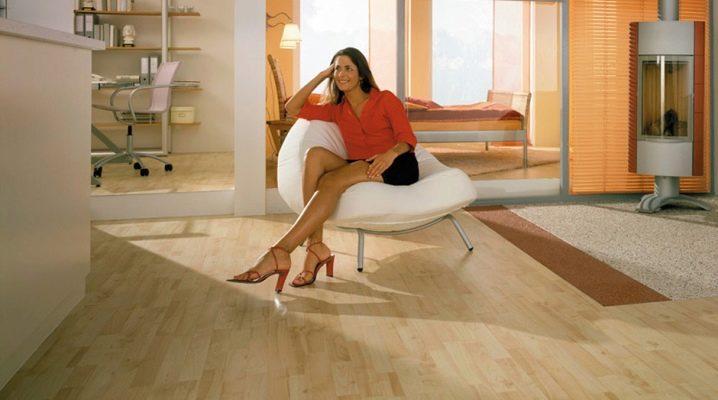 PVC golvplattor: fördelar och nackdelar