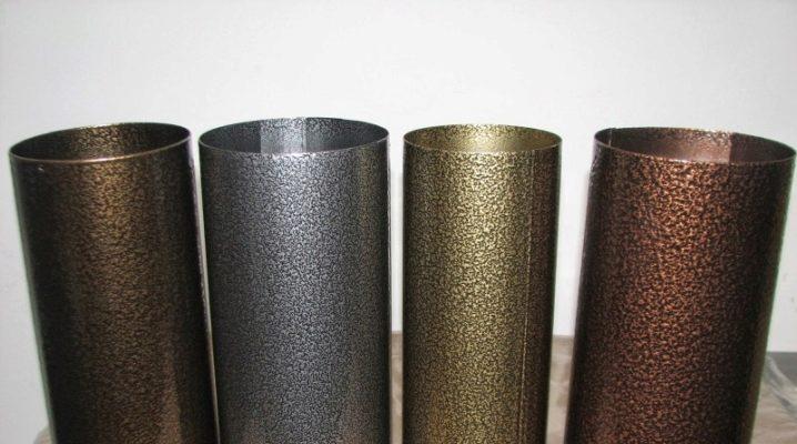 Metal üzerinde toz boya: özellikleri ve özellikleri