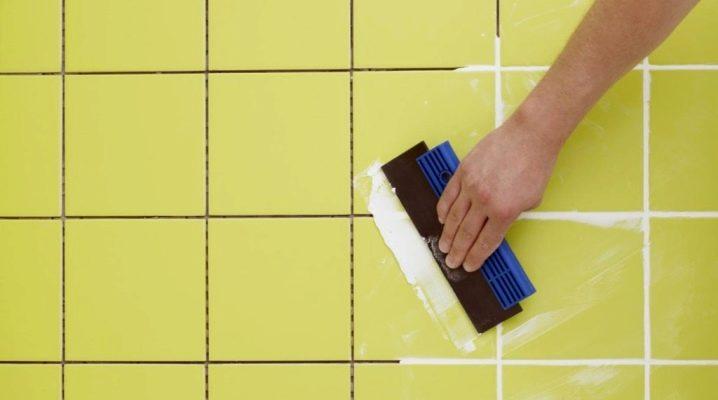 Grout konsumtion för kakelfogar per 1 m2: beräkningsregler