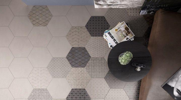 Hexagon Golvplattor: Tips för att välja