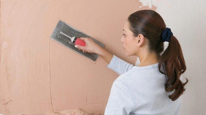 Masticage des murs pour la peinture: technologie et détails du processus