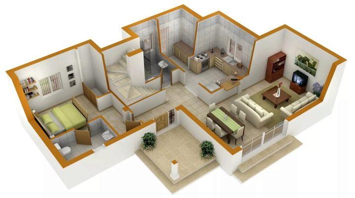 Creați un apartament de proiectare cu propriile mâini