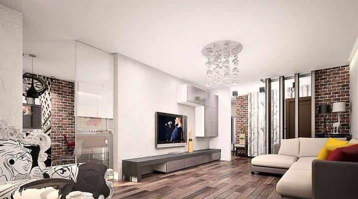 Stylish interior design ideas living room style loft