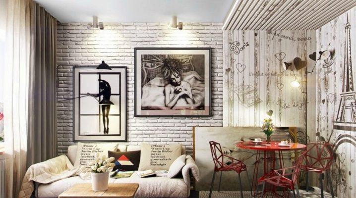 Vi dekorerar väggen i vardagsrummet: stilfulla dekoralternativ i inredningen