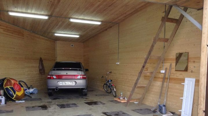 Göra belysning i garaget: alla detaljer i processen