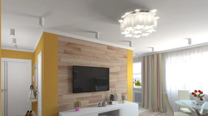 The design of a two-room Khrushchev square of 43 sq.m: interior design ideas