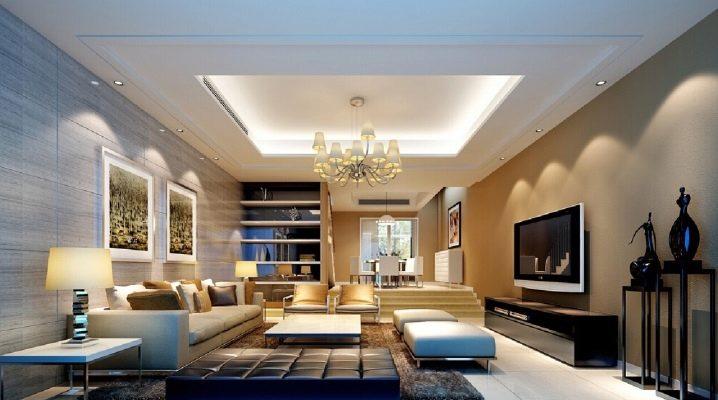 Design de plafond: les subtilités du design d'intérieur