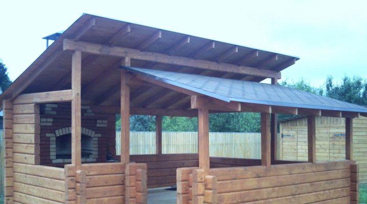 Hur man bygger ett slutet lusthus för trädgården och andra material?