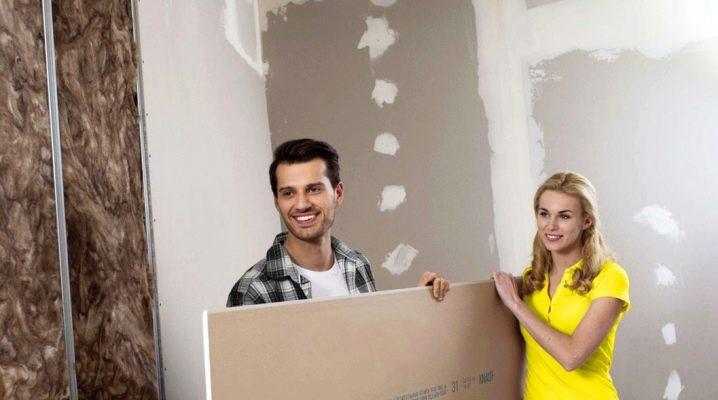 Hur man limar gipsmur till väggen?