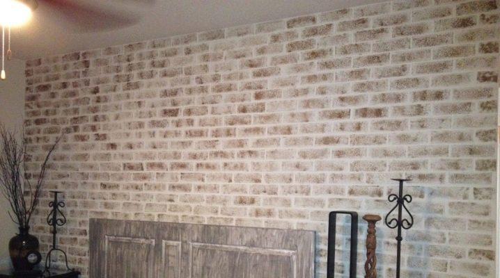 Hur man gör en mursten av gips med egna händer?