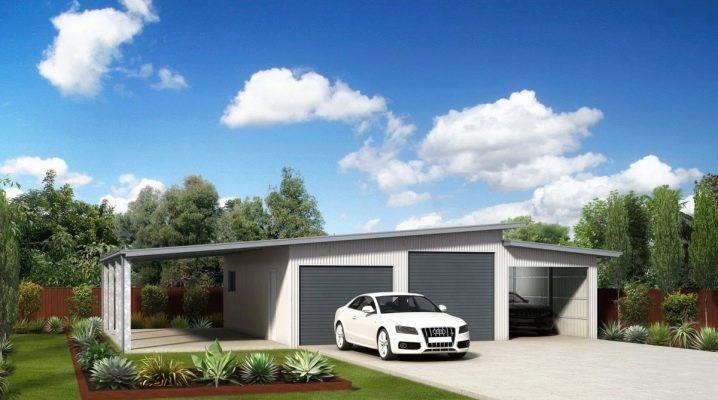 Vilken storlek ska du välja för garaget? Standard och bästa alternativ