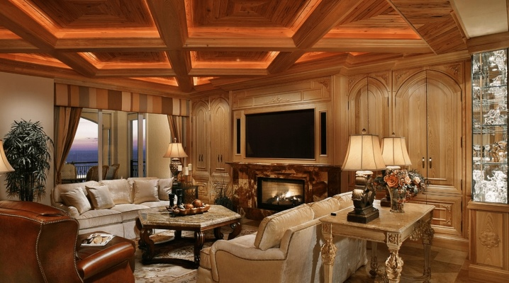 Coffered ceiling: vackra interiör trim alternativ