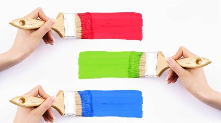 Luktfri färg för inredningsarbete: valfri subtilitet