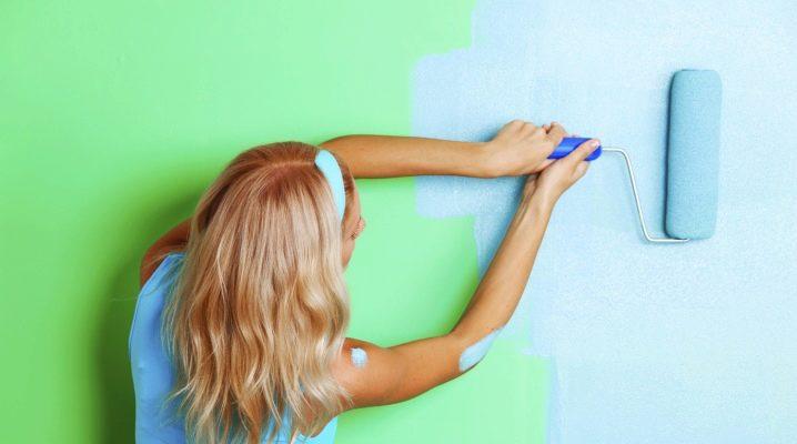 Dulux väggmålningar: egenskaper och fördelar