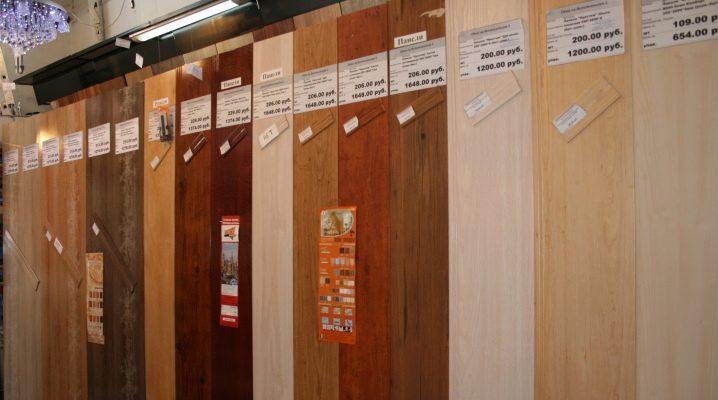 MDF-paneler för taket: valmöjligheter och installation