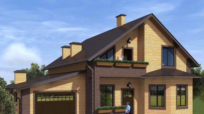 Проекти на къщи с таванско помещение и гараж: максимален комфорт и удобство
