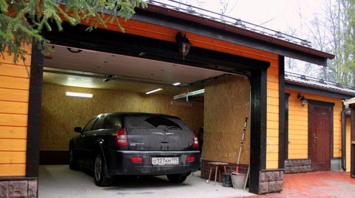 Storleken på garaget för en bil: de optimala parametrarna i rummet