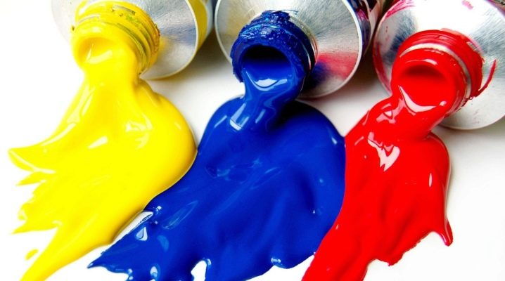 Gummifärg: alla detaljer om val och tillämpning