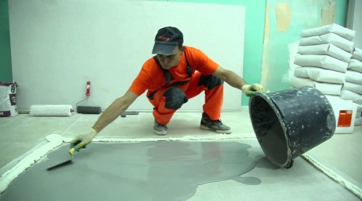 Self-leveling mixture for the floor: what is needed and the details of the application