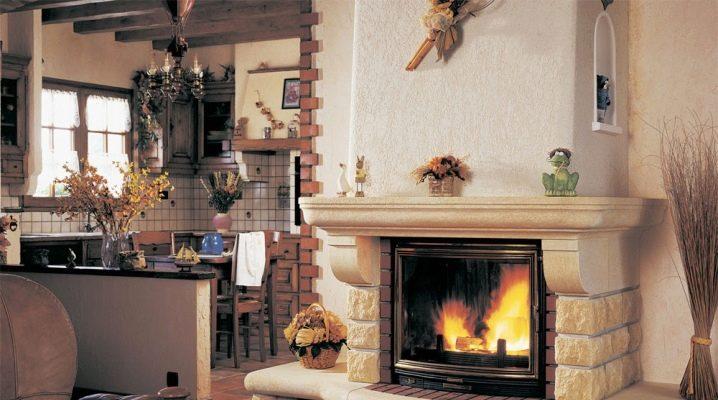Installationsdetaljer för eldstaden