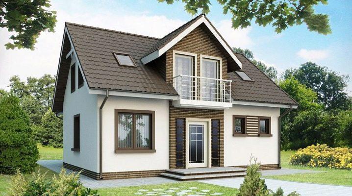 Den noggrannhet att planera ett hus på 6 till 9 med en vind