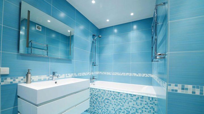 Turkos badrumsplattor: snygga lösningar för ditt interiör