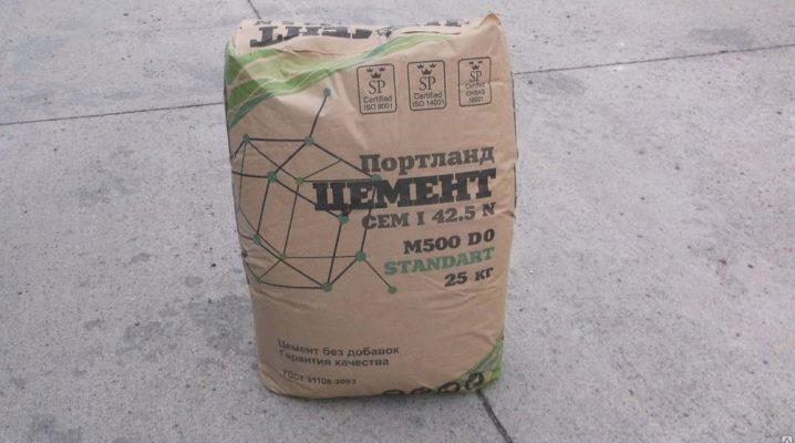Cement M500: egenskaper och tillämpningsområde
