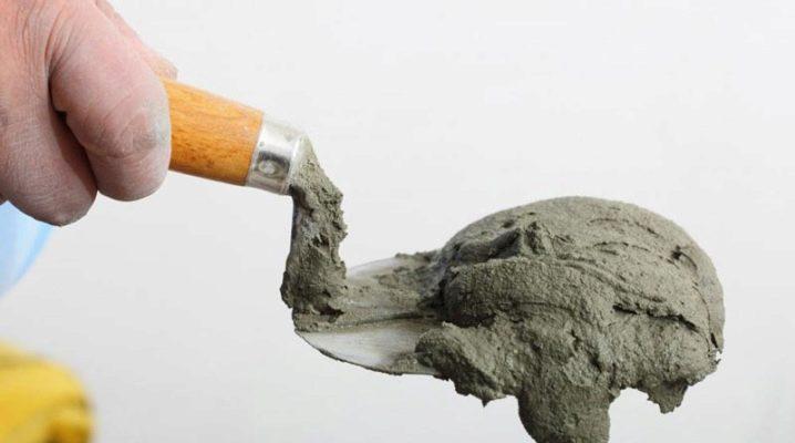 Cement-kalkmortel: proportioner och karaktäristik av betyg