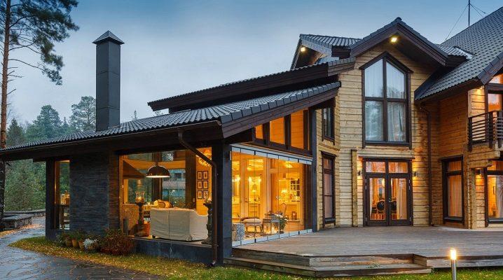 Terrasshus: vackra byggmöjligheter