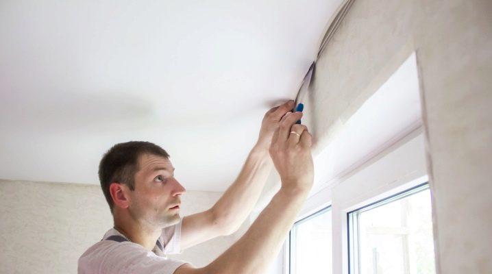 Options de truelle prêtes à l'emploi et faites maison pour les plafonds tendus