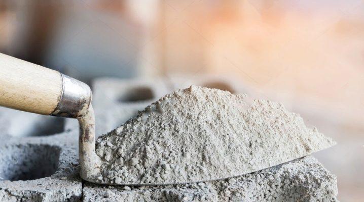 Vad är cement gjord av?