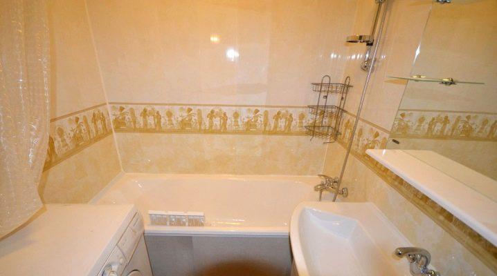 Come incollare i pannelli in PVC nel bagno?
