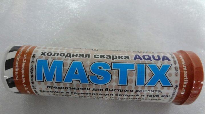Comment utiliser le soudage à froid Mastix?