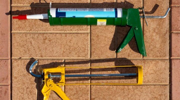 Hur man väljer ett vapen för tätningsmedel?