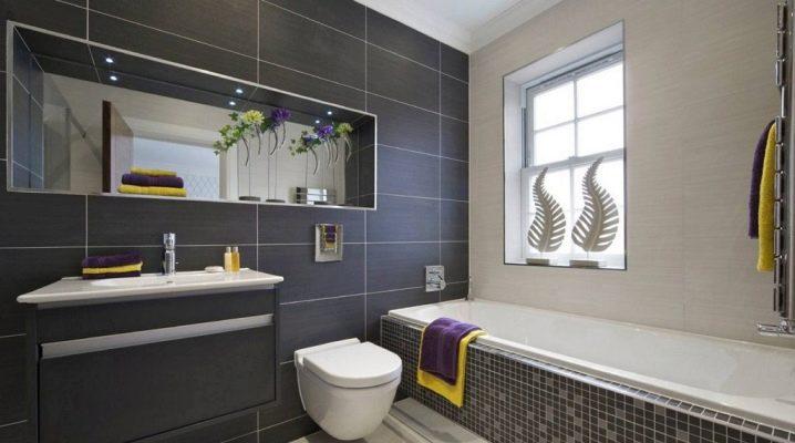 Vilken kakel till badrummet är bättre att välja: blankt eller matt?