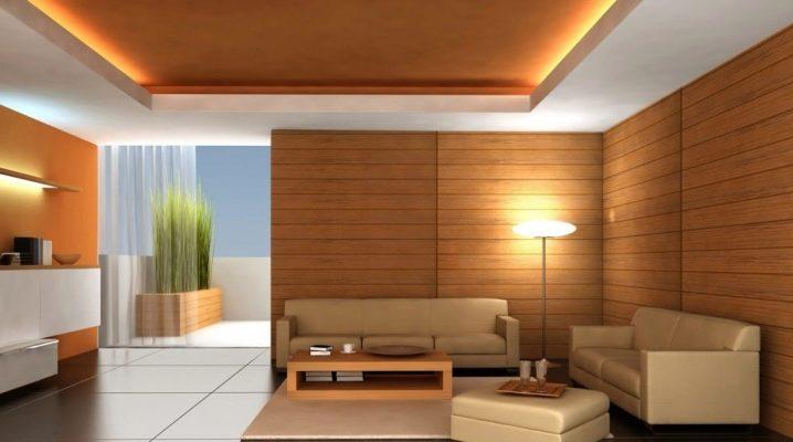 Panneaux MDF pour murs en design d'intérieur