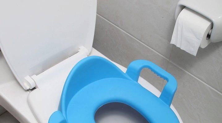 Toalettpads för barn: en mängd olika val