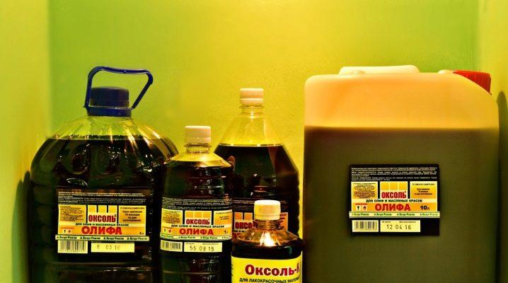 Torkolja: sorter och användningsområden