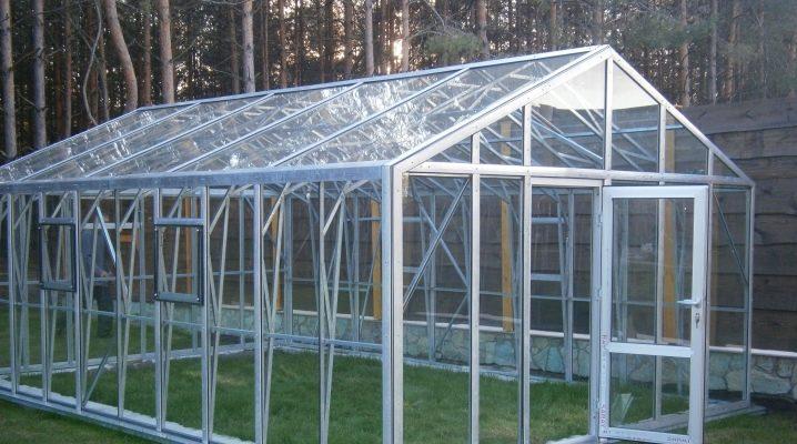 Egenskaper av glas växthus